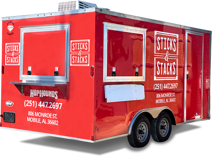 Sticks and Stacks Food Trailer